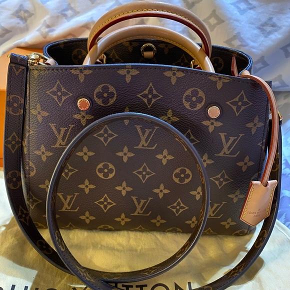 TRADE!! Authentic Louis Vuitton Montaigne BB